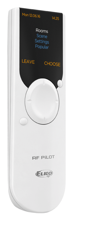 White ELKO smart home remote